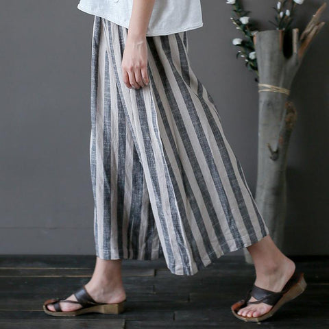 grey-striped-linen-pants