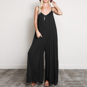 Buddha Trends Black / S Bohemian Wide Leg Συνολικά