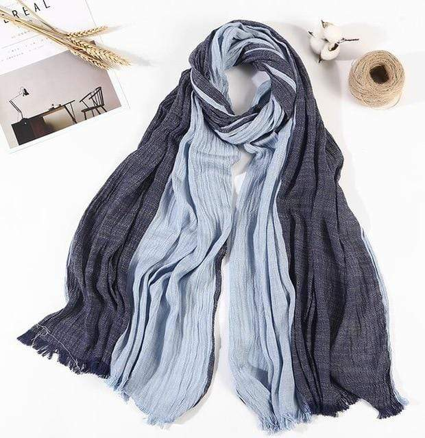 100% Cotton Large Literature Scarves