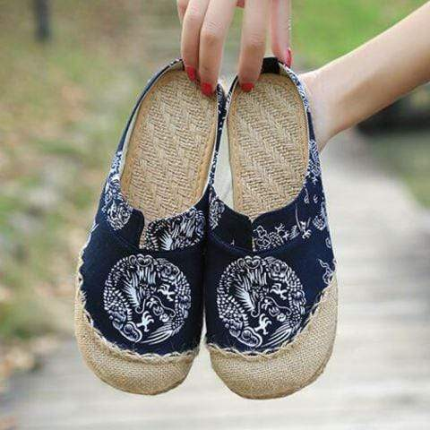 Dragon Hemp & Cotton Flats