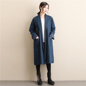Μπλουζάκι Trends Blue / M Casual Tren Coat