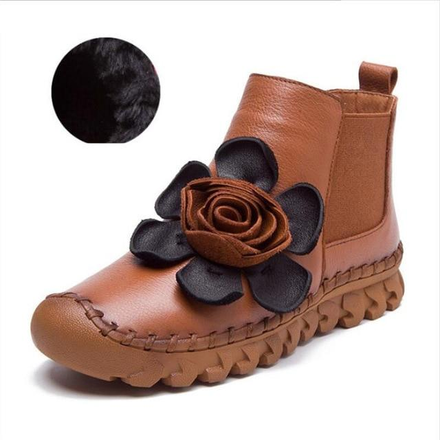 Earthbound Hippie Floral Embroidered Boots