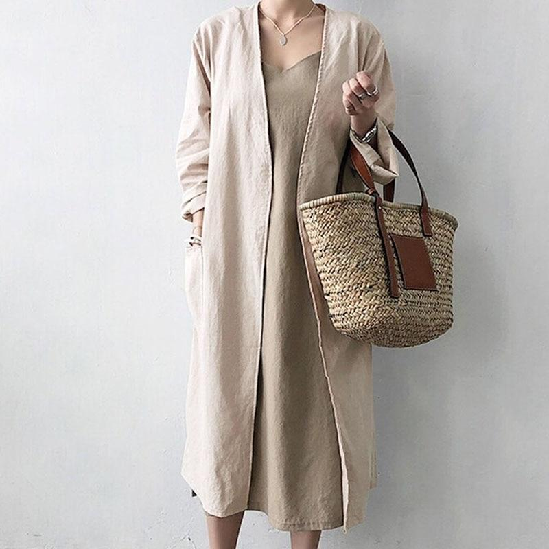 Buddha Trends Cardigans Back to Basics Cardigan long à point ouvert