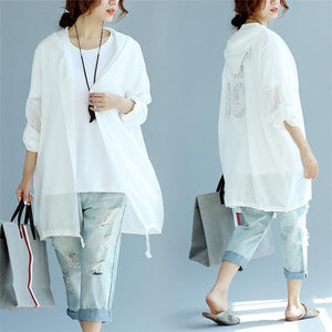 Buddha Trends Cardigans White / One Size Made in the 80s Button Up Cardigan