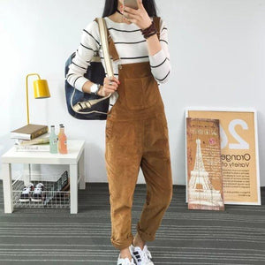 Buddha Trends Cord 90er Jahre Overalls