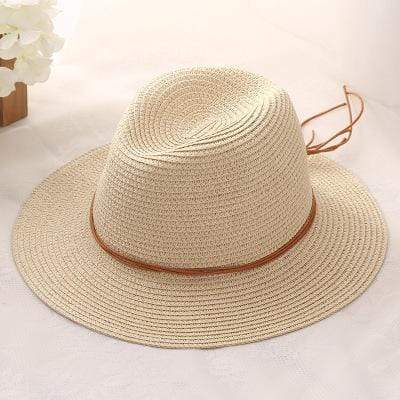 Womens Boho Straw Sun Hat