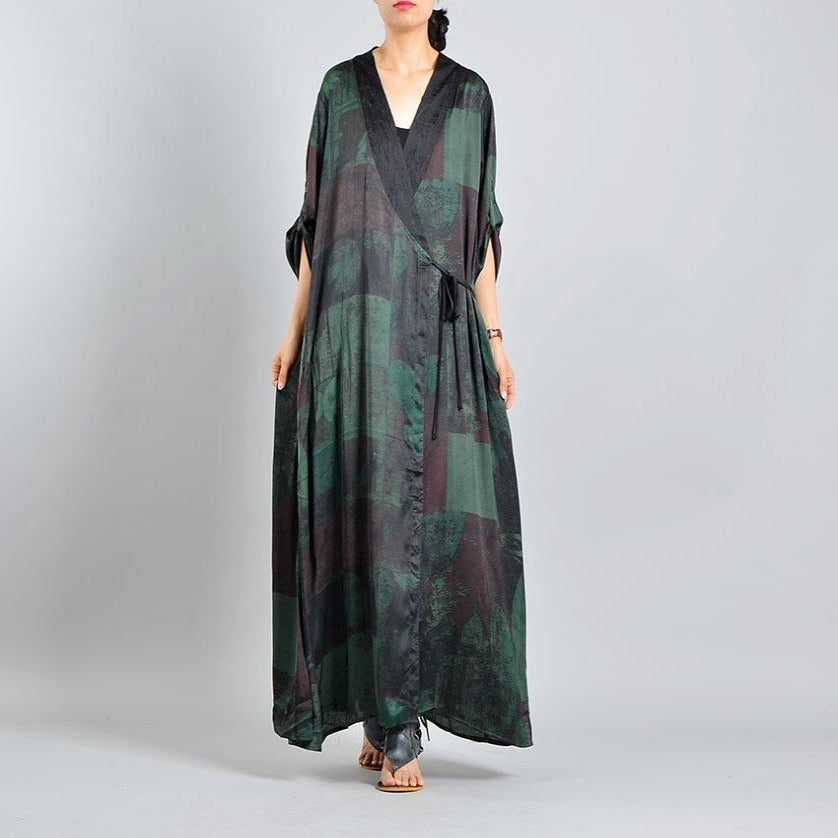 Buddha Trends Dress Skye Nature Inspired Wrap Dress | Nirvana