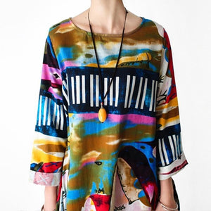 Buddha Trends Dress The Artist's Way Abstract Dress