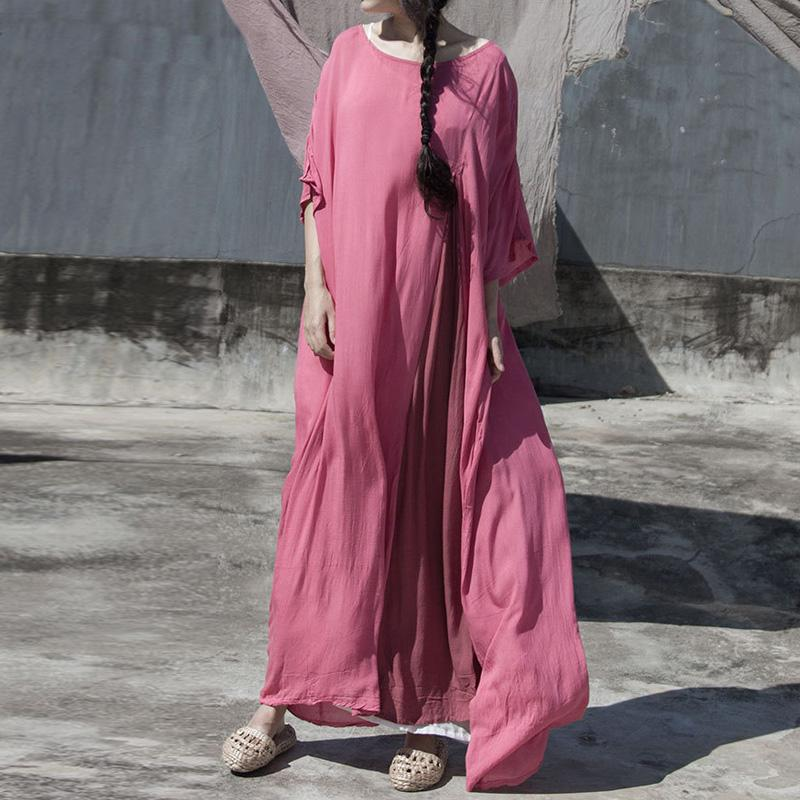 Sweet Modesty Oversized Maxi Robe | Lotus
