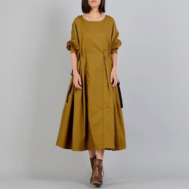 Modest Vintage Inspired A-Line Dress