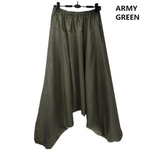 Buddha Trends Harem Pants Army Green / M Multiple Colors Casual Plus Size Harem Pants