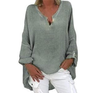 Buddha Trends Irina Oversized Plus Size Shirt