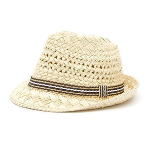 Buddha Trends Light Beige Artsy Fartsy Handmade Straw Hats