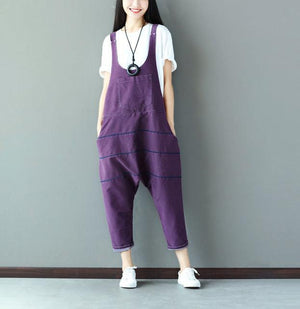 Buddha Trends Light Purple / One Size Low Crotch Loose Denim Συνολικά