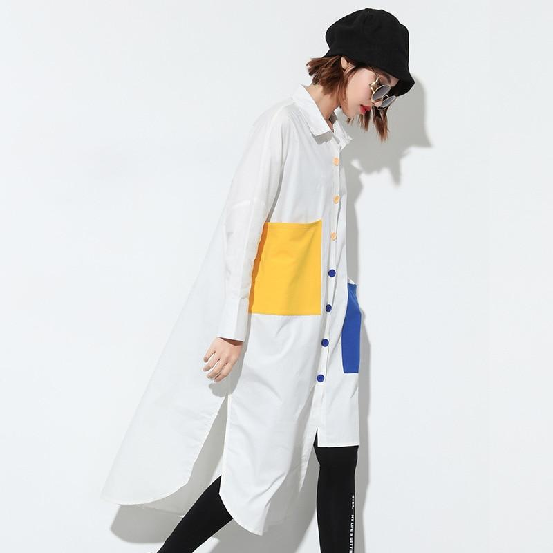 Buddha Trends Loose Funky Oversized Shirt