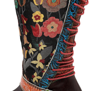 Buddha Trends Meadow Boho Hippie Knee-High Boots