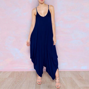 Φόρεμα Flowy Harem, Μπλε Trends Navy blue / XS Plus