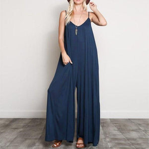 Buddha Trends Navy / S Bohemian Wide Leg Συνολικά