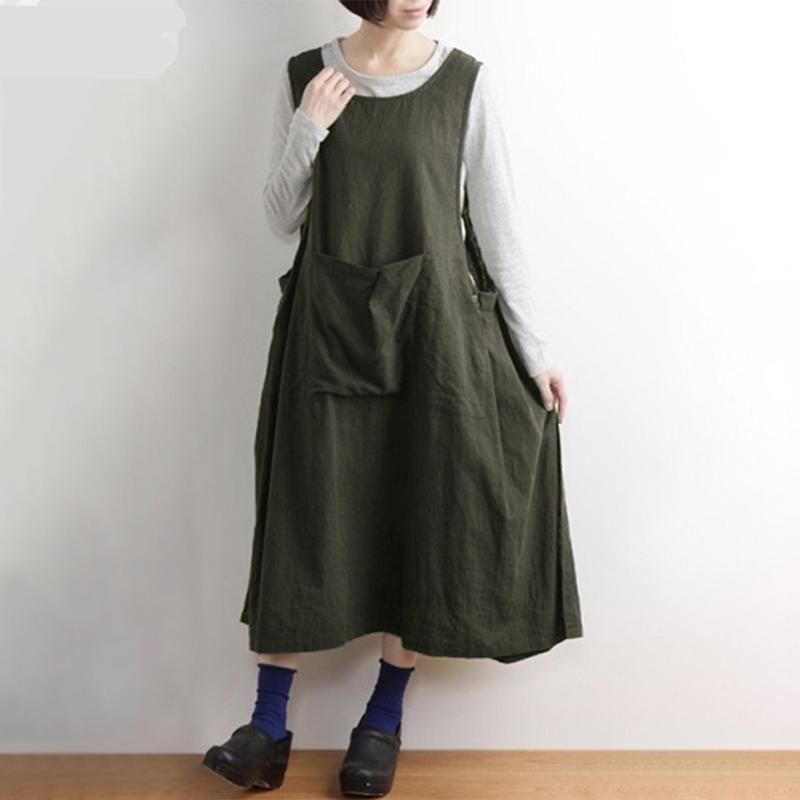 Anita Plus Size Vintage Overall Dress