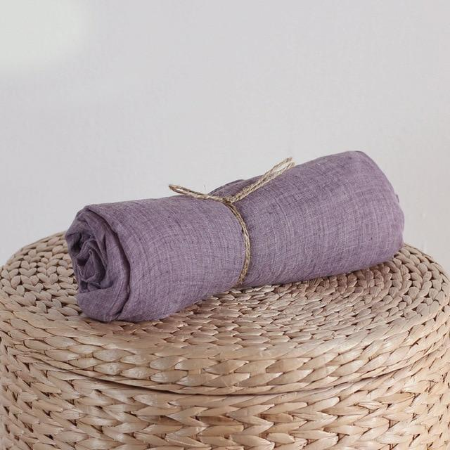Buddha Trends Purple / One Size Pure Colour Βαμβακερό μαντήλι