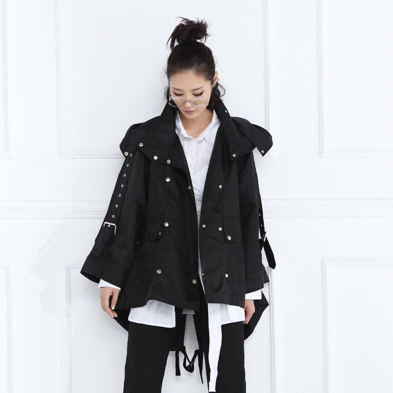 Buddha Trends Steampunk Double Belted Jacket | Millennials