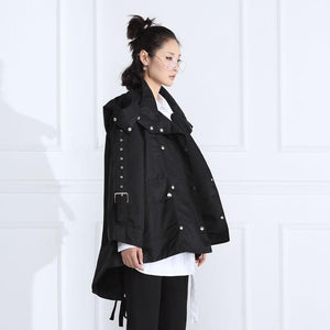 Steampunk Double Belted Jacket | Millennials