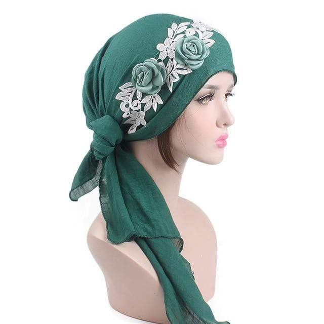 Buddhatrends Gypsy Style Floral Head Wrap