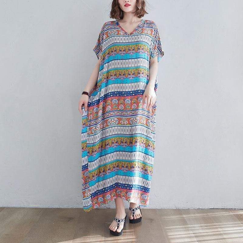 Buddhatrends maxi All Over Printed Maxi Dress