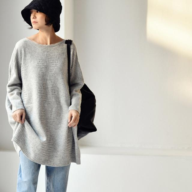 Buddhatrends Pullover Riley Strick Pullover Pullover