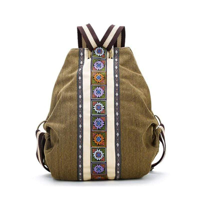 Buddhatrends Woodstock Hippie Backpack