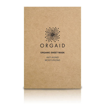 ORGAID Organic Sheet Mask | Anti-Aging & Moisturizing