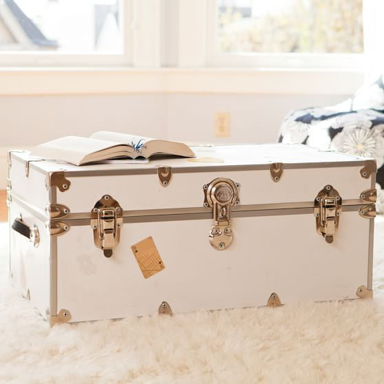 Pottery Barn Dorm Trunk
