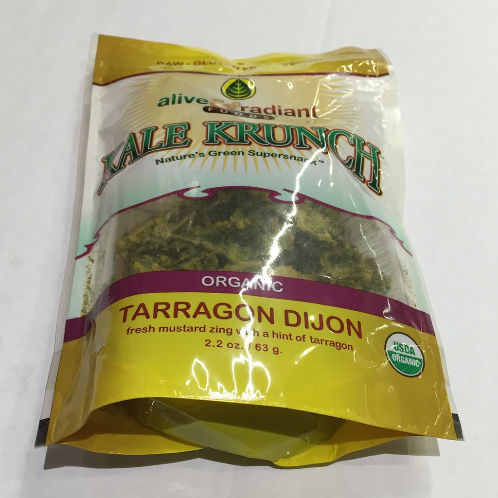 Alive and Radiant Kale Krunch: Tarragon Dijon - 2.2 oz