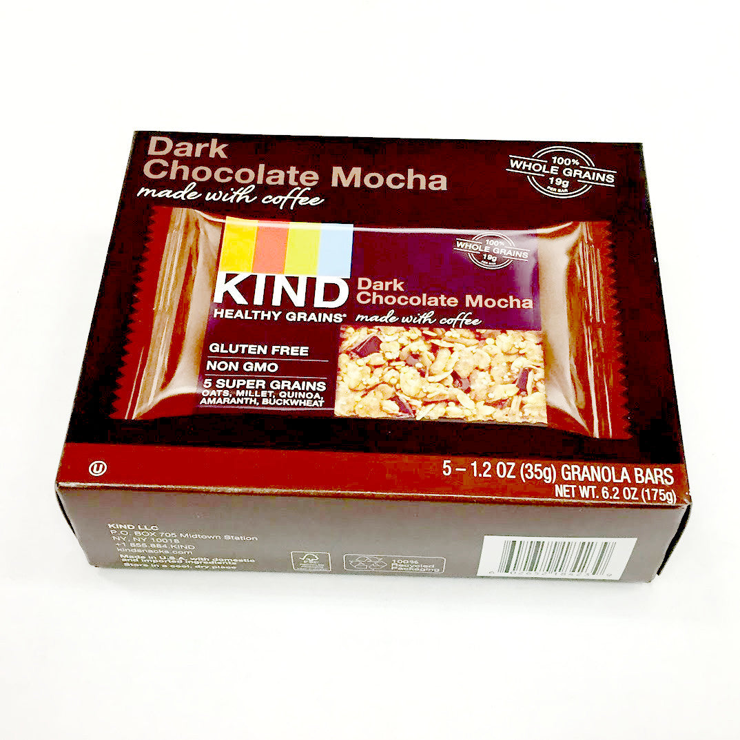 Kind Granola Bars: Dark Chocolate Mocha - 5 bars 1.2 oz each