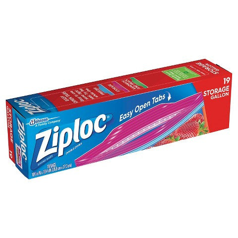 Ziploc - 38 ct 1 gallon storage