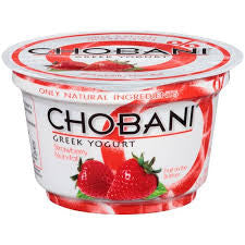 Chobani Strawberry Yogurt - 5.3oz