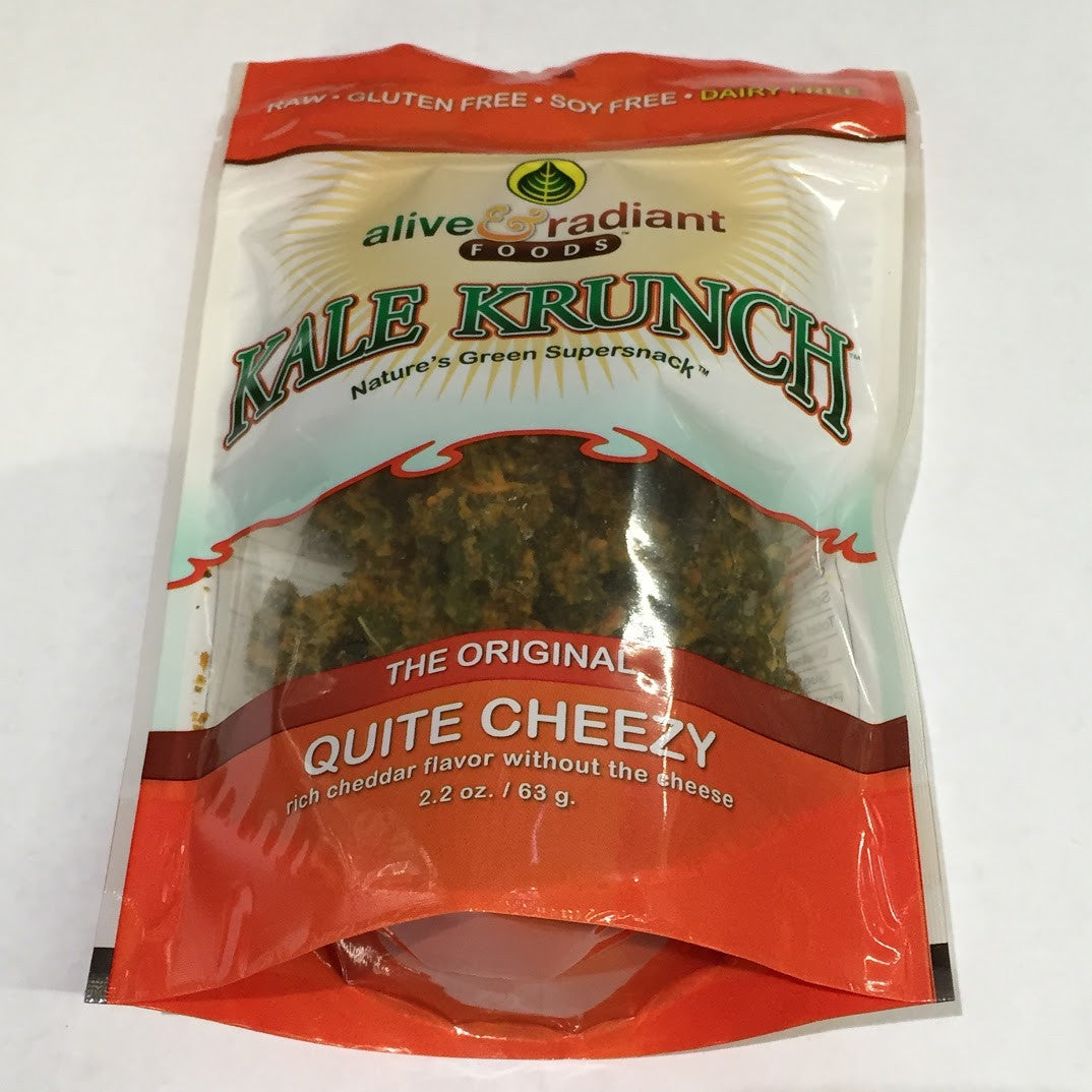 Alive and Radiant Kale Krunch: Quite Cheezy - 2.2 oz