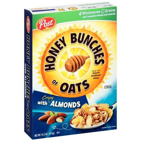 Honey Bunches of Oats with Crunchy Almonds - 27oz