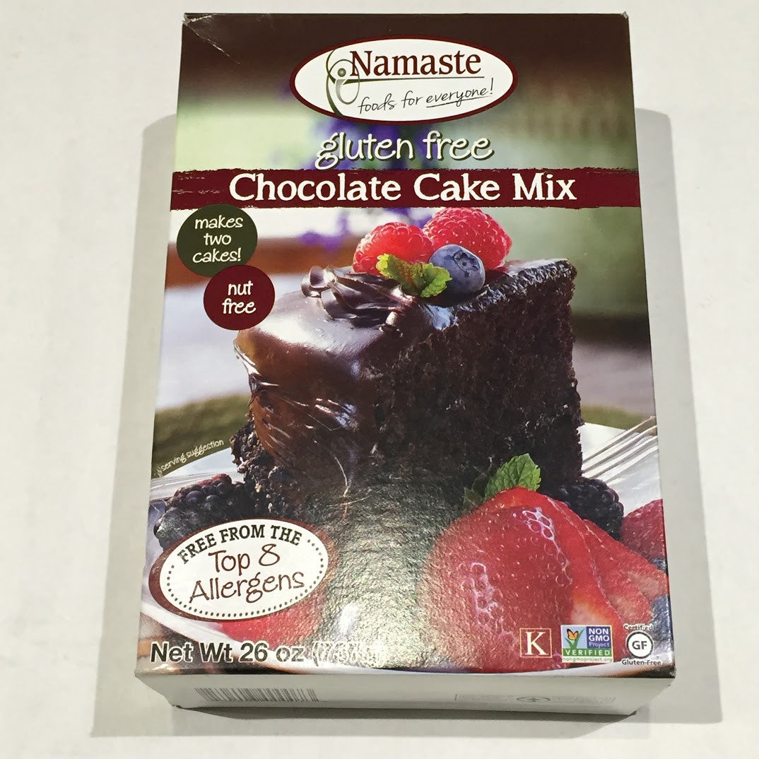 Namaste Gluten Free Chocolate Cake Mix - 26 oz