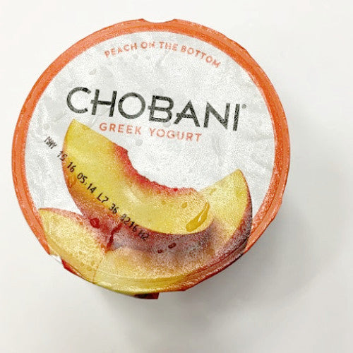 Chobani Greek Yogurt Peach - 5.3oz