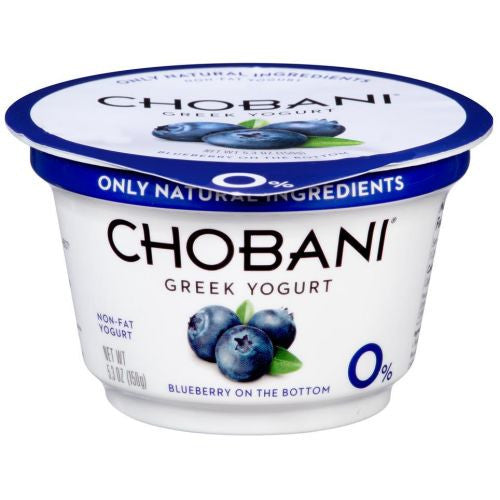 Chobani Coconut Blueberry on the Bottom Non-Fat Greek Yogurt - 5.3 oz