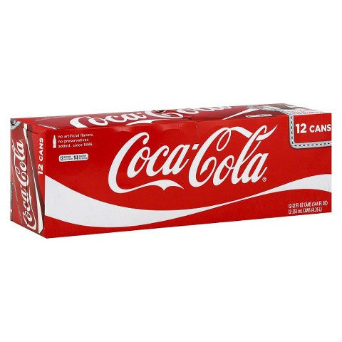 Coca Cola - 12 pk/12 oz each