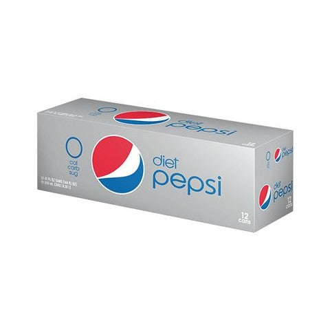 Diet Pepsi - 12-pack/12 oz cans