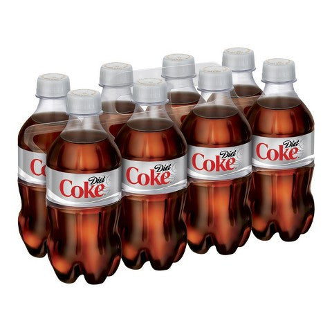 Diet Coca-Cola - 8-pk/12 oz each