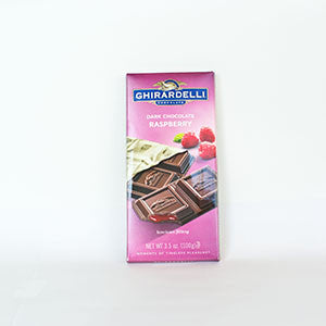 Ghirardelli Dark Chocolate Raspberry Bar - 3.5oz