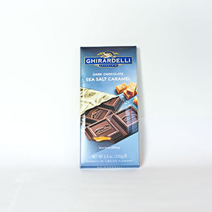 Ghirardelli Dark Chocolate Sea Salt Caramel Bar - 3.5oz