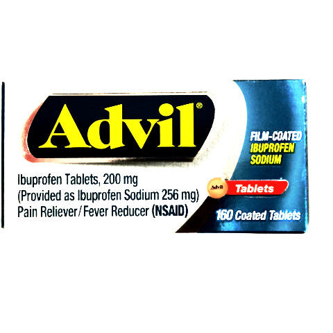Advil Ibuprofen - 200mg tablets - 160ct