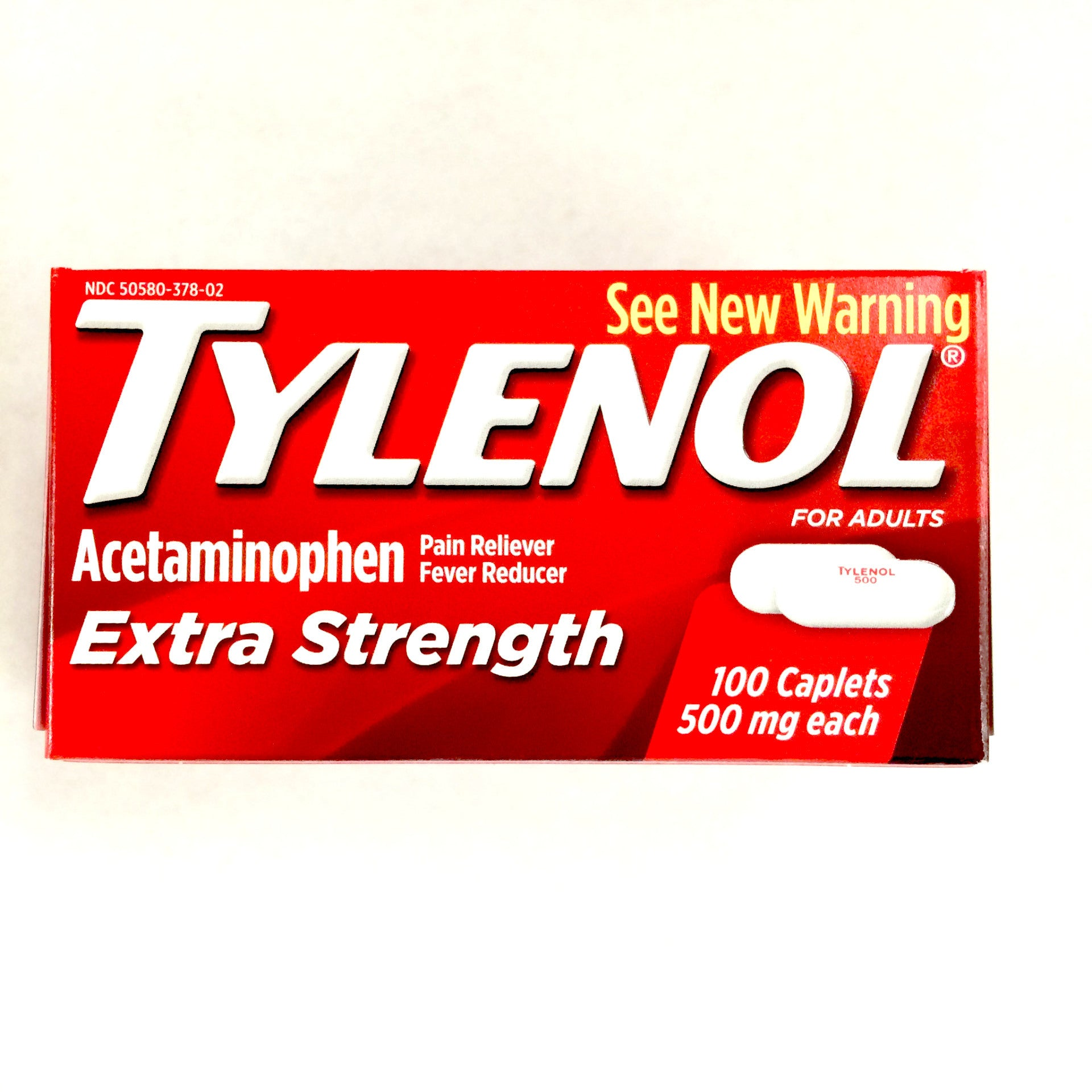 Tylenol Regular Strength Tablets - 100ct