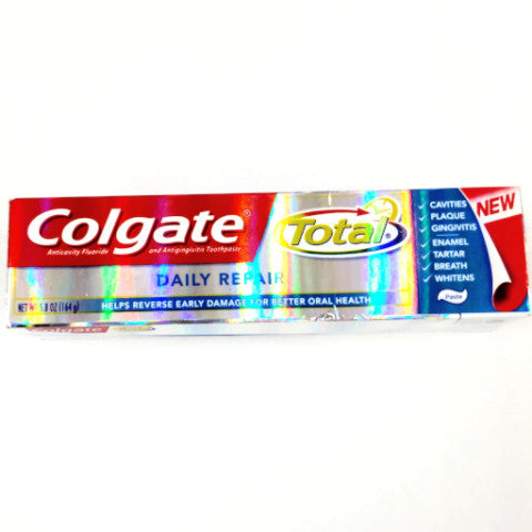 Colgate Total Daily Repair Toothpaste - 6.0 oz