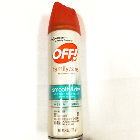OFF! FamilyCare Smooth and Dry Aerosol - 4oz